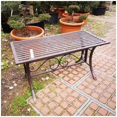 Lauko stalas, metalinis